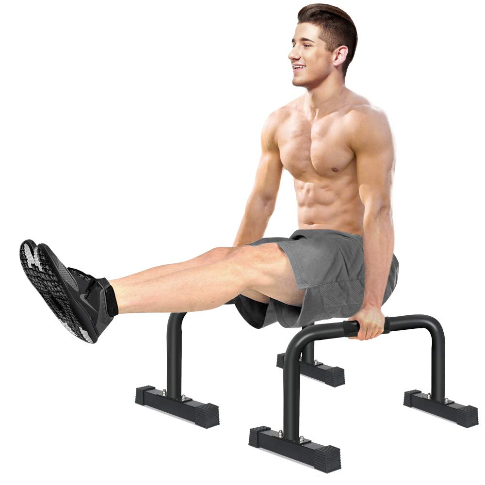 High-Rise Parallettes Push-up Bars by IDEER LIFE