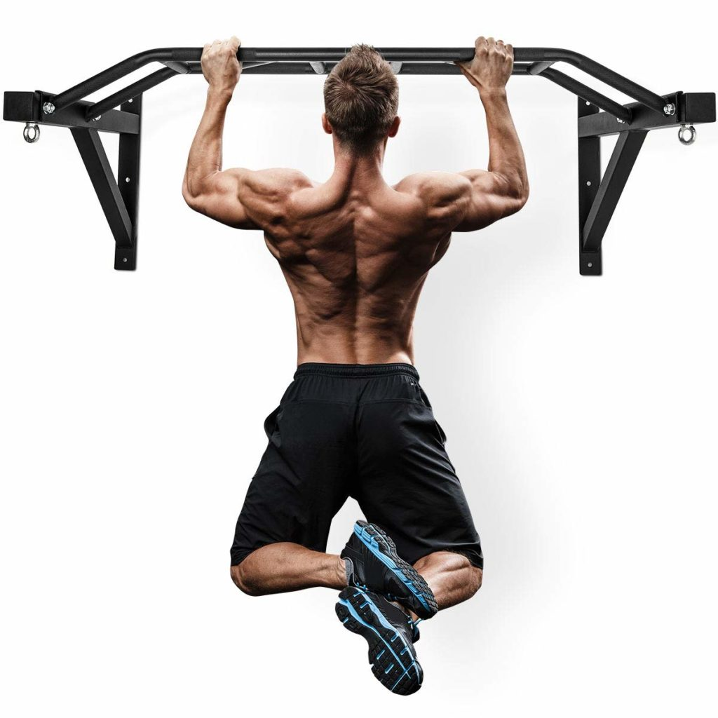 Wall Mounted Multi-Grip Pull-up Bar by Merax