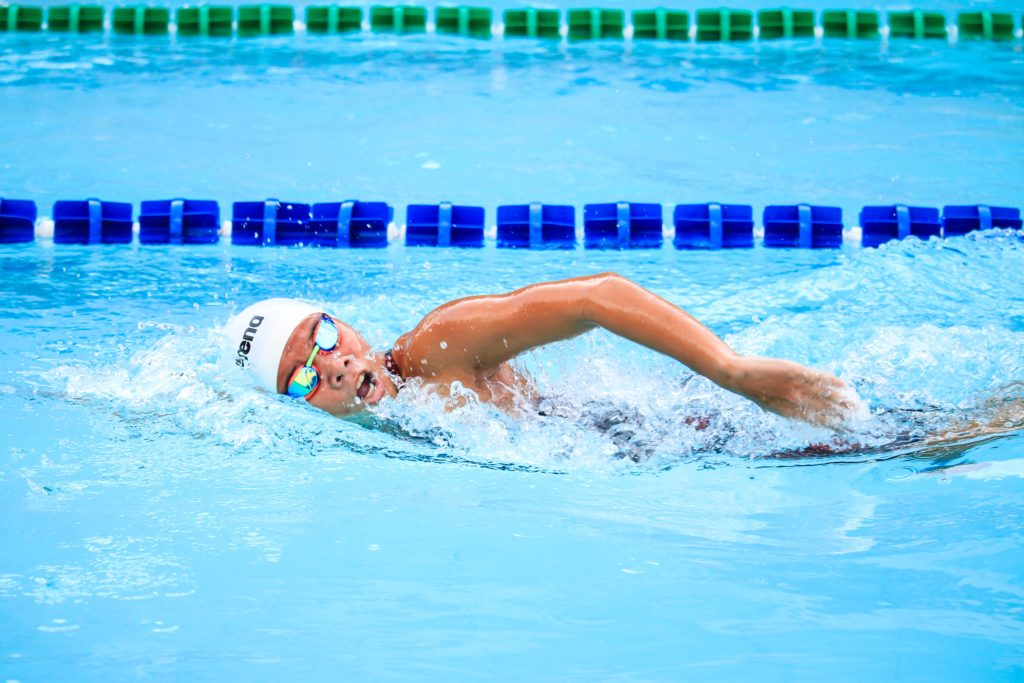 A Swimmers' Body Is Perfected And Built